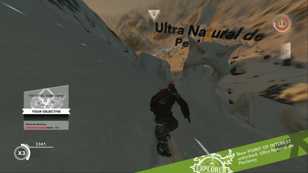 Alcuni setpiece sparsi per le montagne sono davvero simpatici.