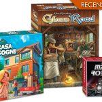 Gli acquisti del mese: Micro Robots - Glass Roads - La casa dei sogni