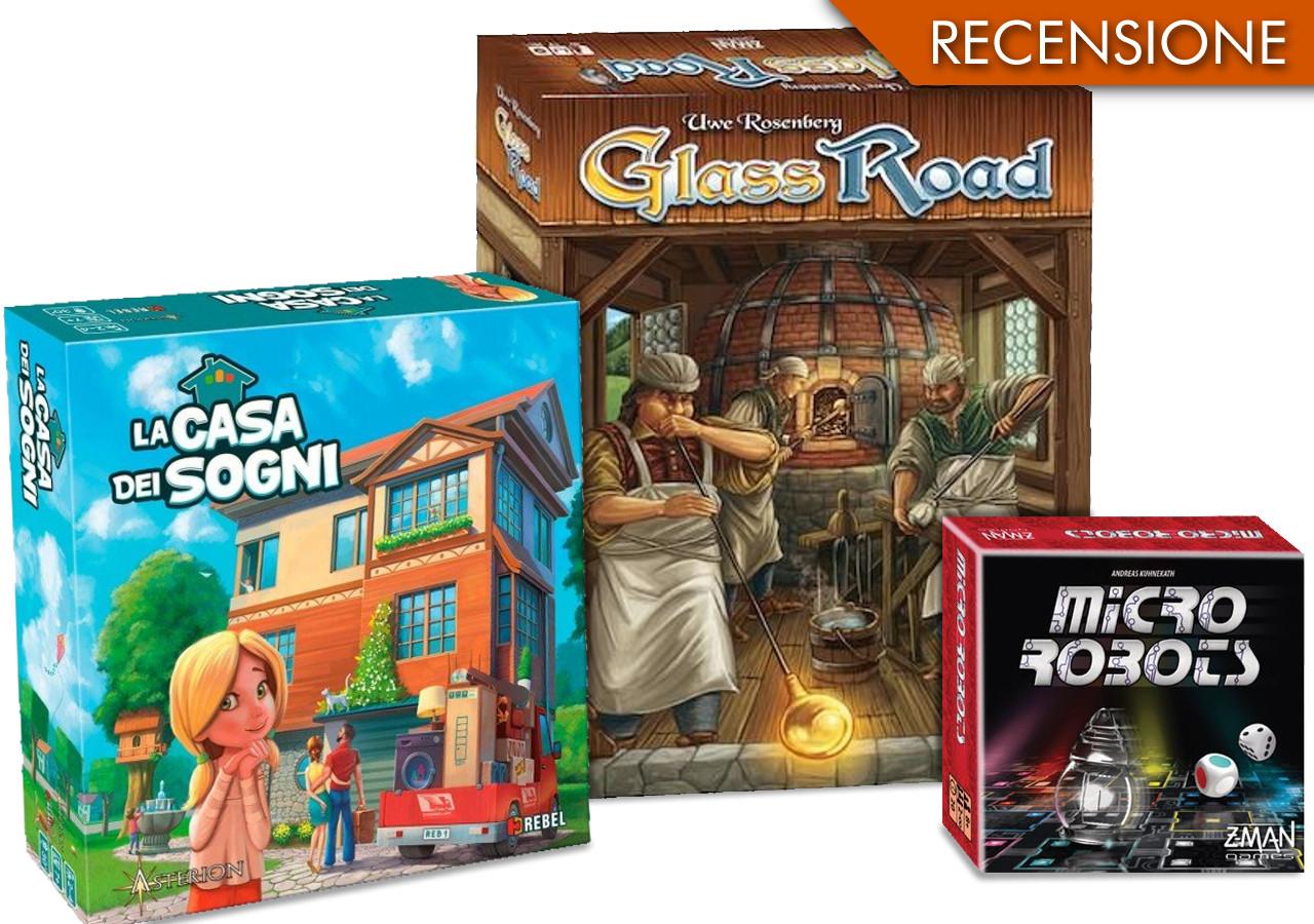 Gli acquisti del mese: Micro Robots – Glass Roads – La casa dei sogni