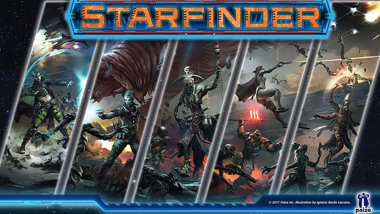 Starfinder Roleplaying Game – The Sky is the Limit