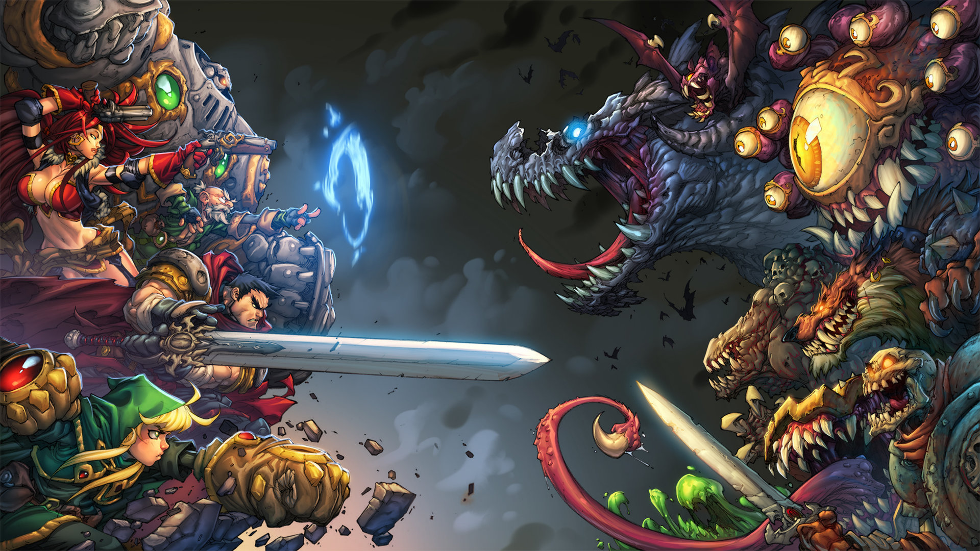 Battle Chasers: Nightwar – Dalla carta al pad
