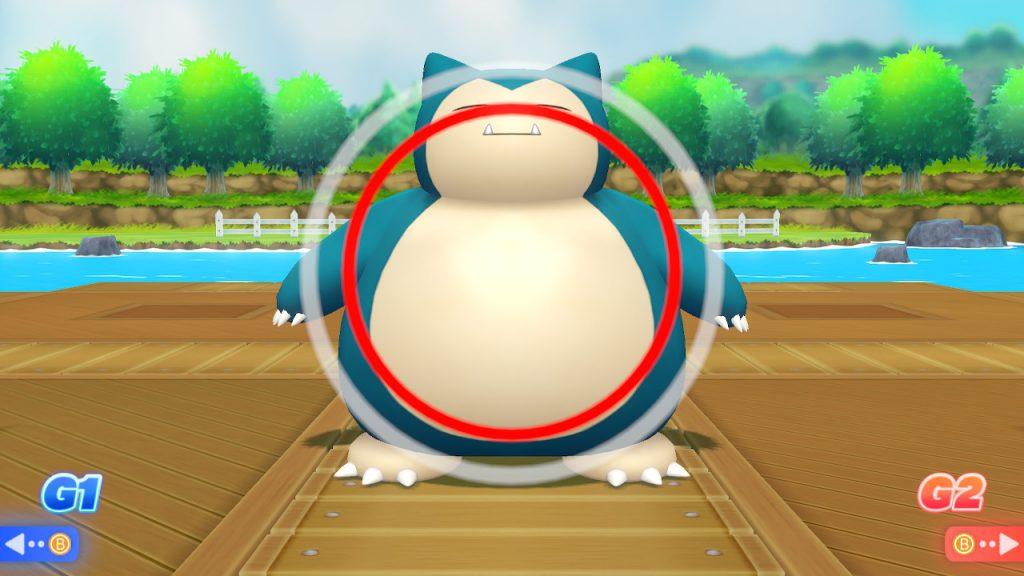 Sistema di cattura alla Pokémon Go dimostrato su uno Snorlax.