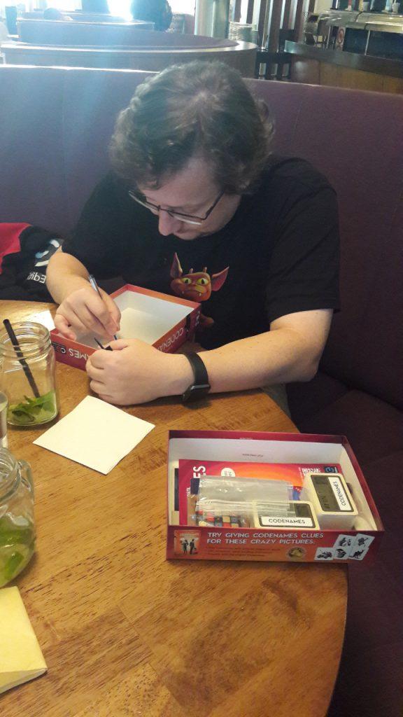 VlaadaChvátil autografra Nome in Codice.