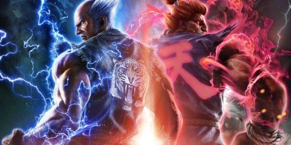 Akuma e Heihachi Mishima, lotta tra vecchi