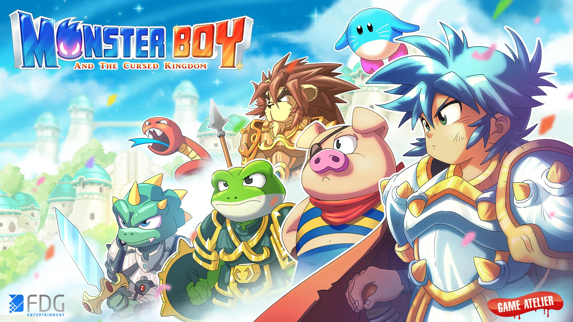 copertina del gioco Monster Boy per Nintendo Switch