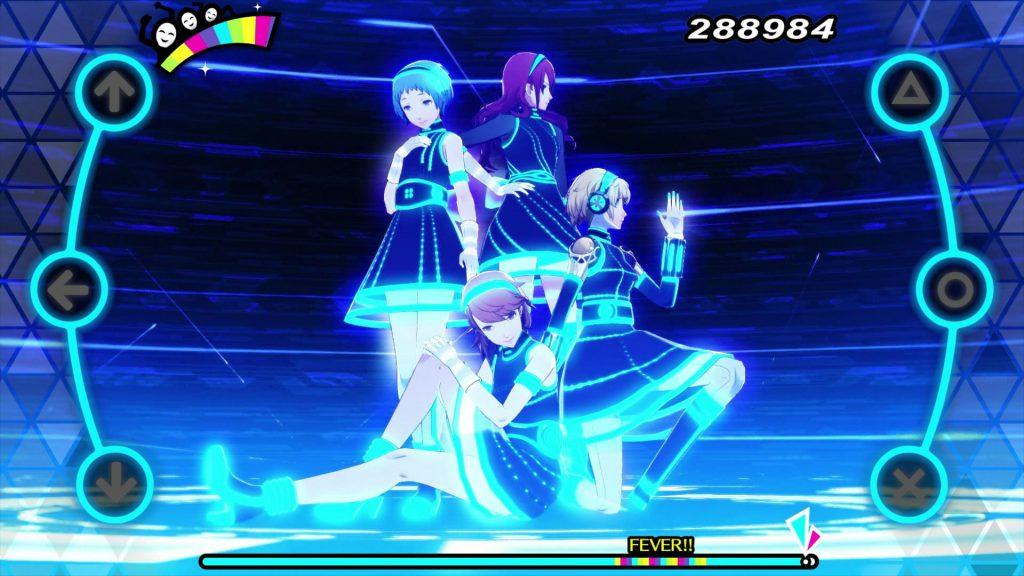 Il cast di Persona 3 che balla