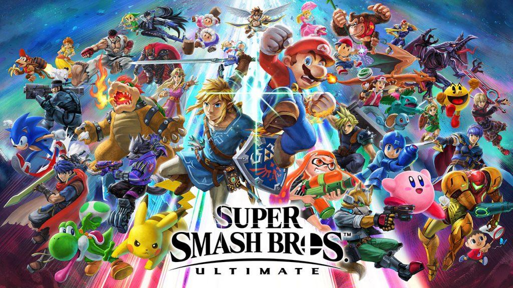Copertina di Smash Bros Ultimate