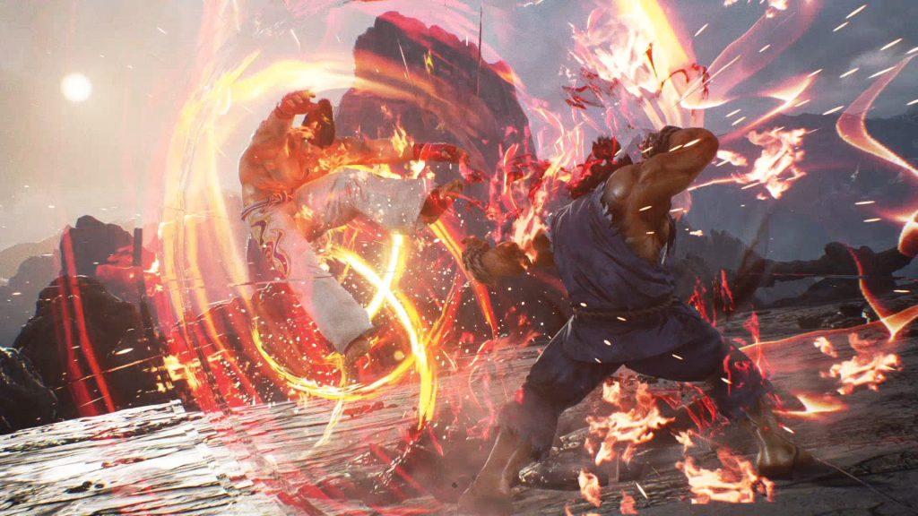 Akuma riempie di mazzate il Mishima di turno