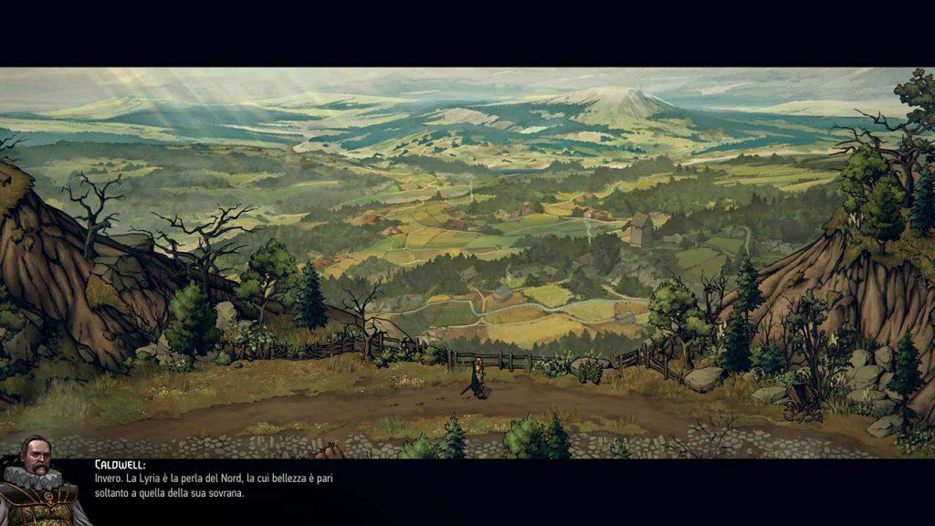 Immagine raffigurante le valli della Lyria.