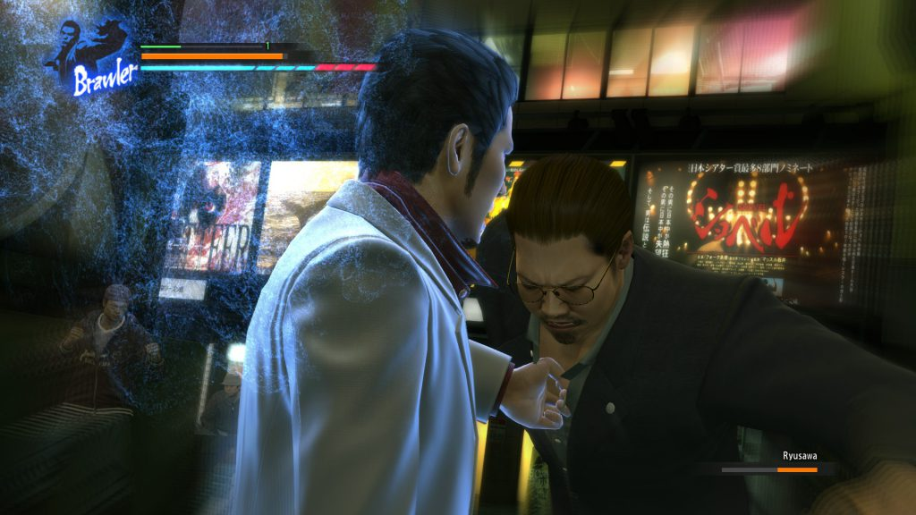 Kiryu usa una heat action
