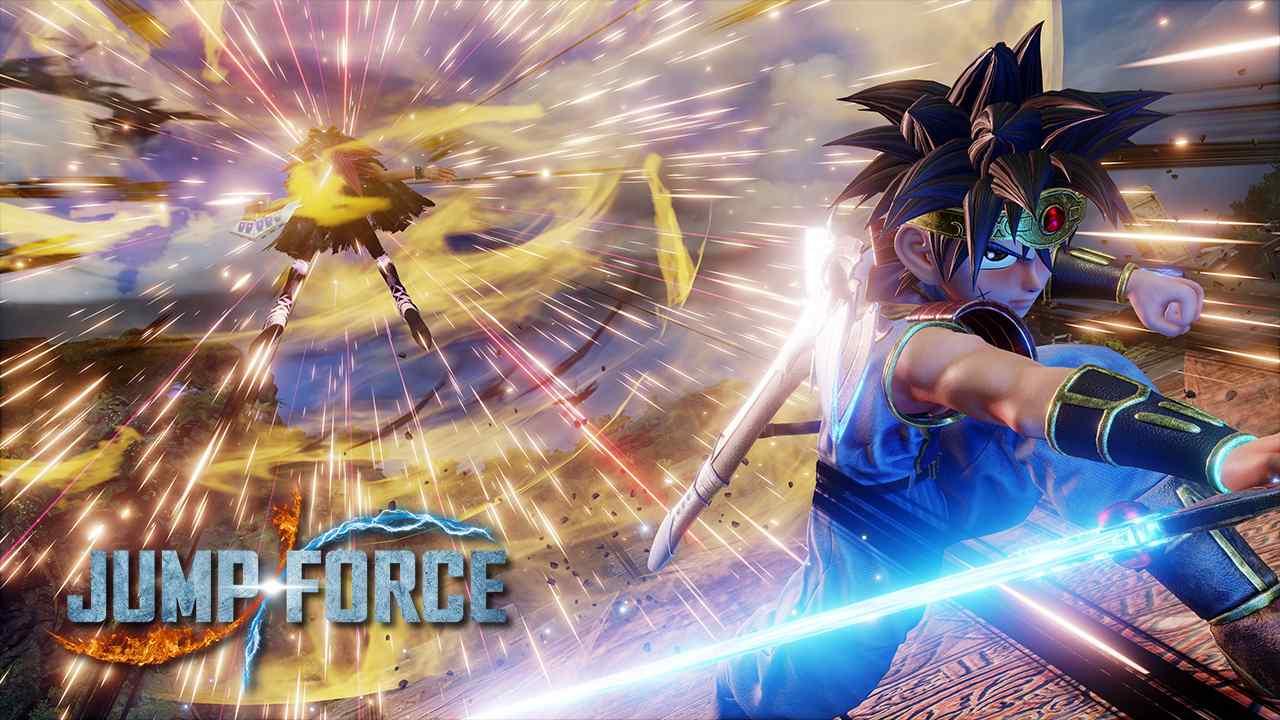 Jump Force arriva con il suo ampio roster di personaggi