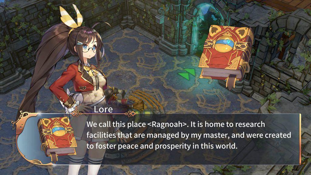 Lore spiega la lore