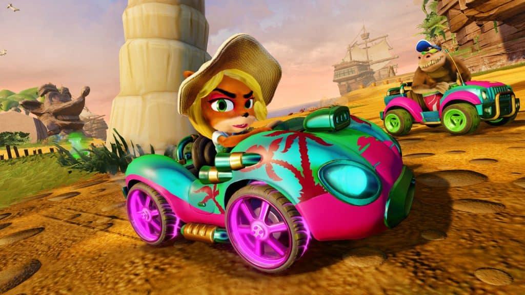CTR Kart Coco