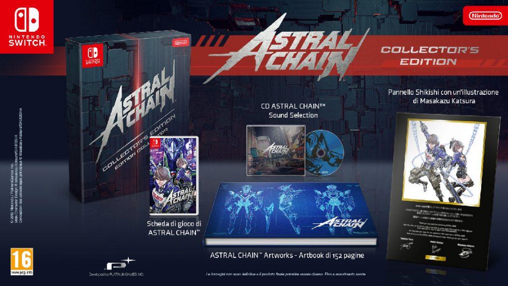 Collector's Edition di Astral Chain.