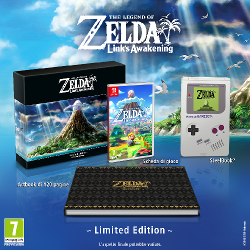 La limited di The Legend of Zelda: Link's Awakening è deliziosa