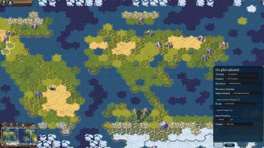 World Builder per Civilization VI: Gathering Storm
