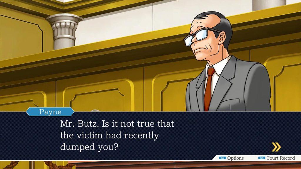 Il Procuratore Payne interroga un sospettato