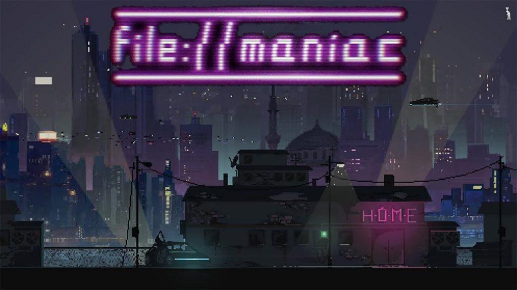 Screen di File://Maniac