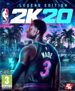 NBA2k20 Legend Edition Dwayne Wade