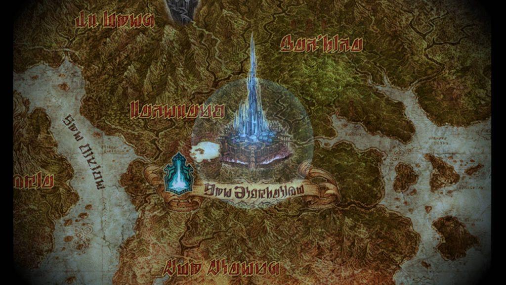 Mappa di Norvrandt