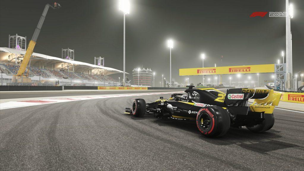 L'illuminazione e' il vero protagonista di F1 2019, in ogni condizione di meteo ed orario.