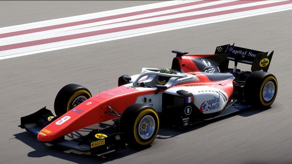 La Formula 2, a livello contenustico, e' la novita' della serie, ed il recente update ha aggiunto la serie dell'anno corrente.
