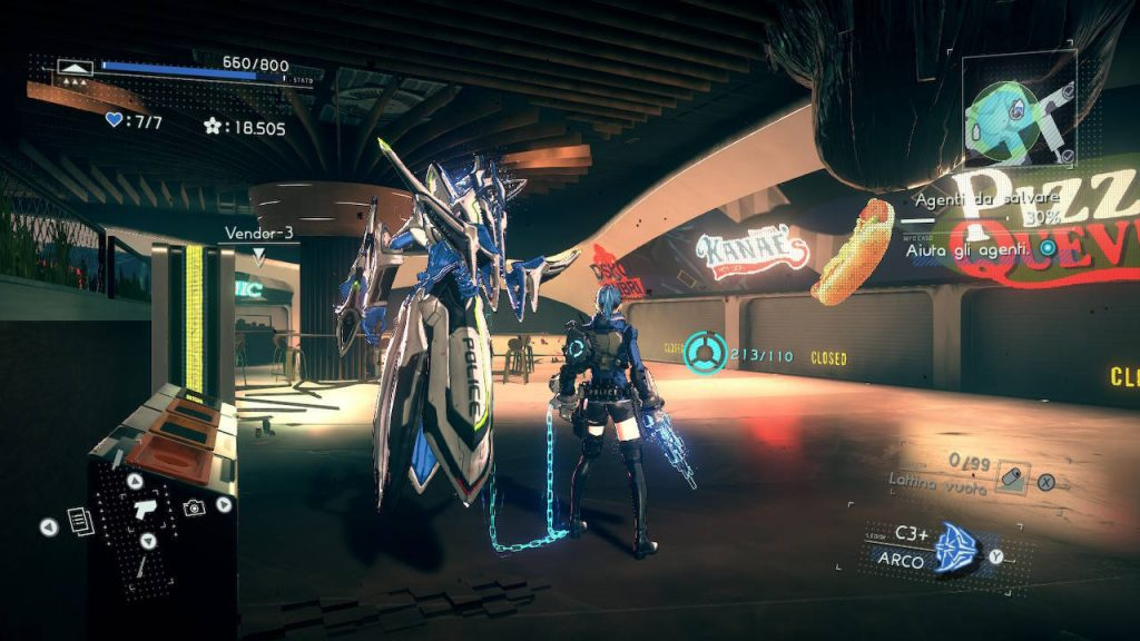 Il nostro Legion personalizzato in Astral Chain su switch