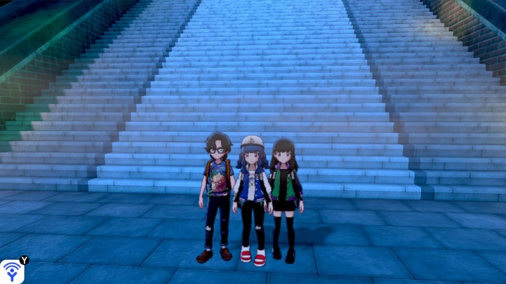 Me and the boys, ready to kick some raid Pokémon's ass