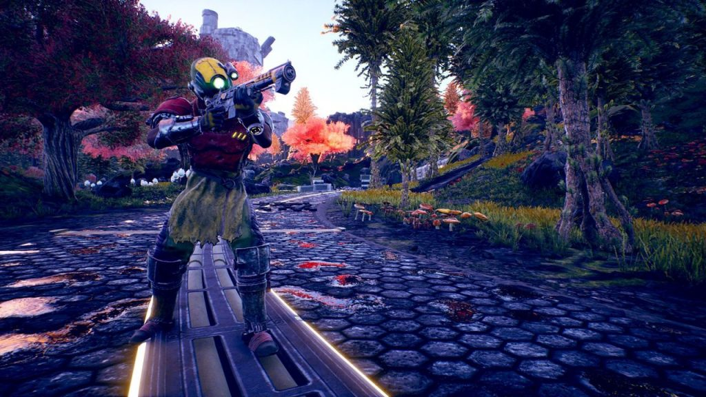 screenshot di The Outer Worlds