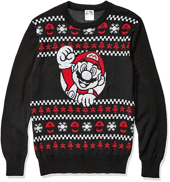 Maglione di lana Super Mario