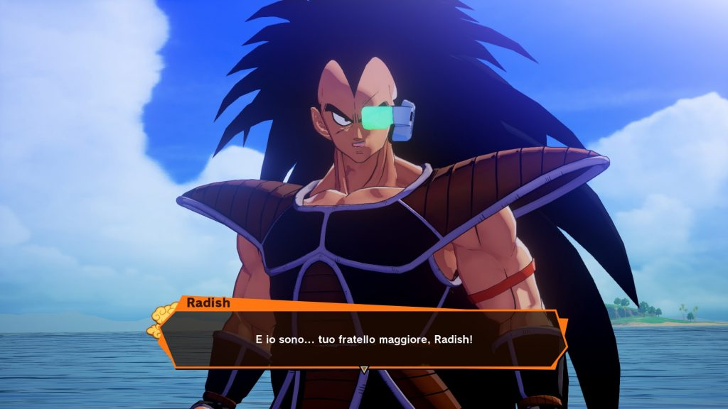 Radish, il fratello di Goku
