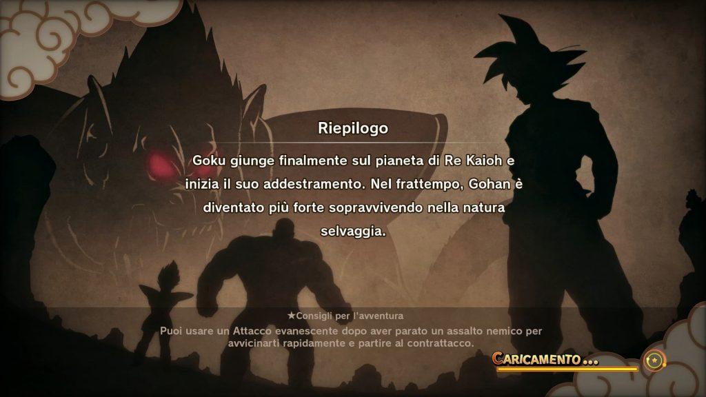 Goku, Vegeta e Nappa nella saga dei Sayan