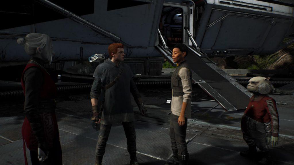I personaggi principali del gioco.
