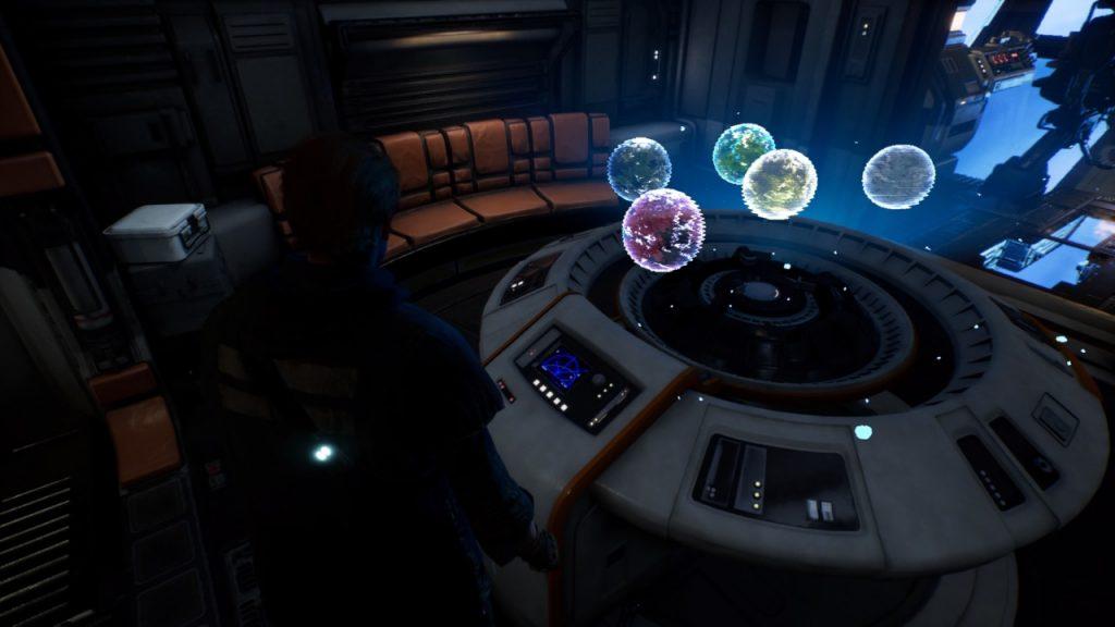 I cinque pianeti disponibili.