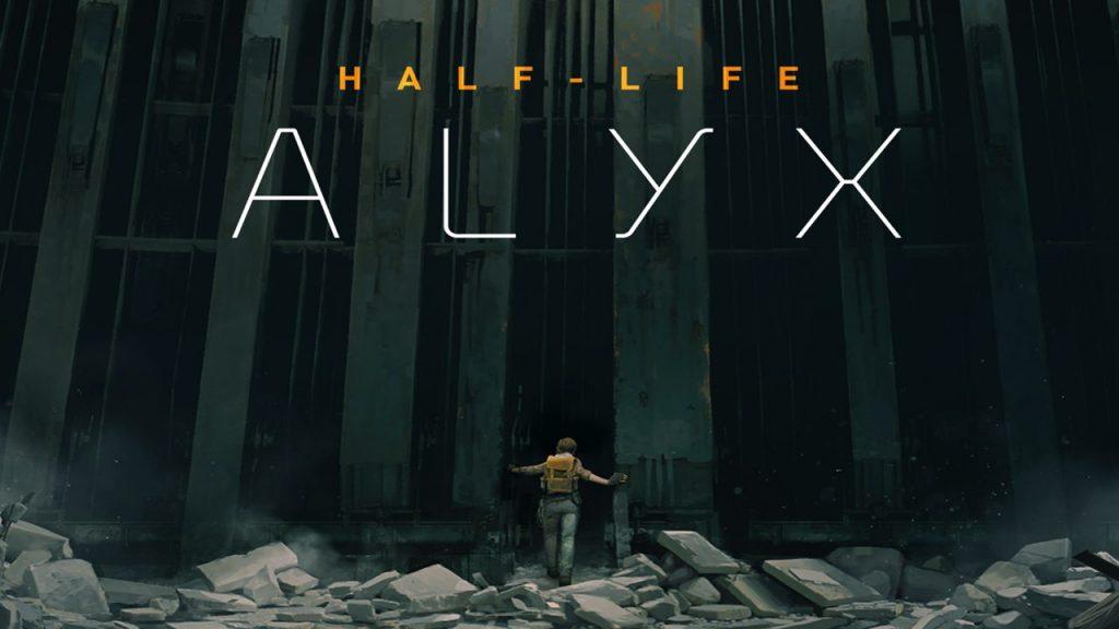 Il logo di Half-Life: Alyx nello store