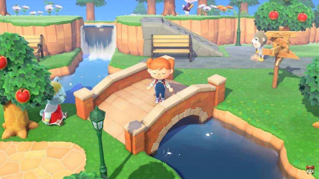 Esempio di costruzioni su Animal Crossing New Horizons