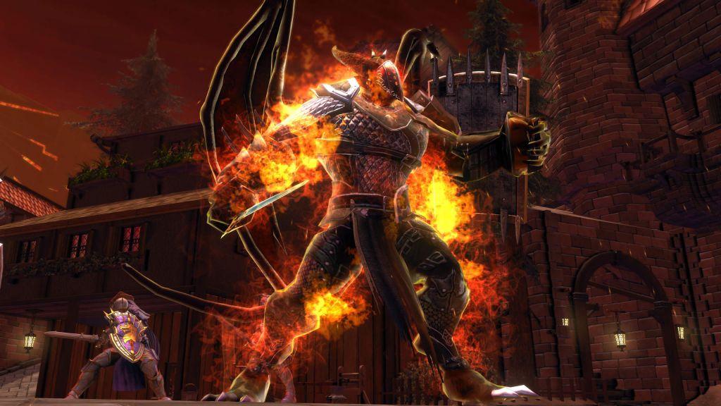 Zariel, l'arcidiavolo antagonista in Neverwinter: Infernal Descent