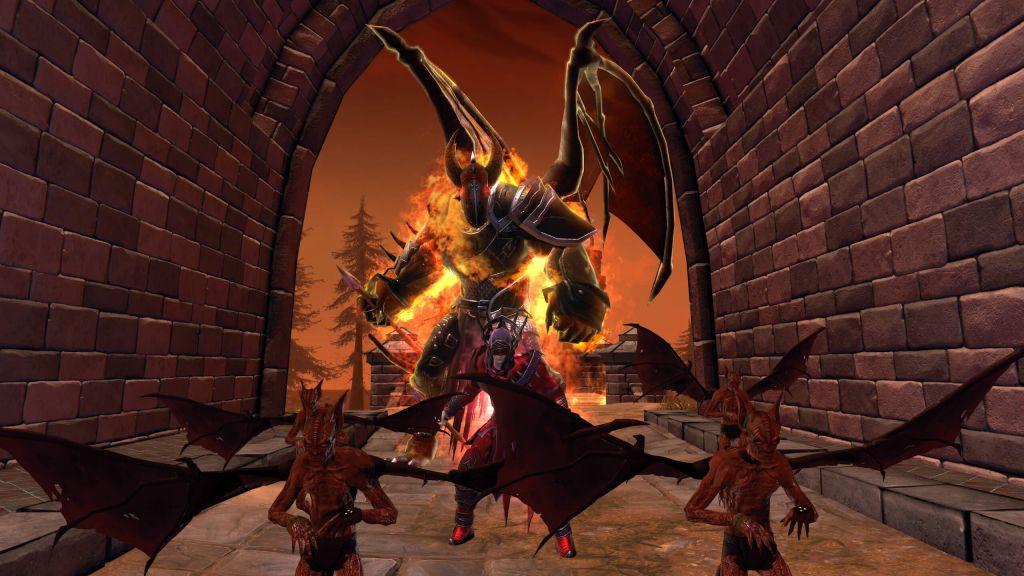 L'arcidiavolo Zariel e i suoi demoni in Neverwinter: Infernal Descent