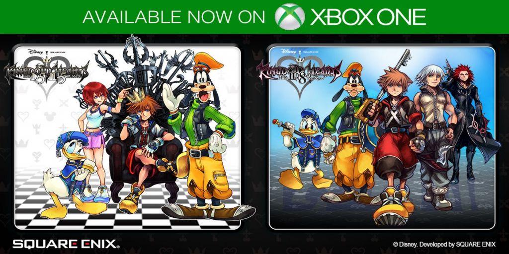Kingdom Hearts su Xbox One
