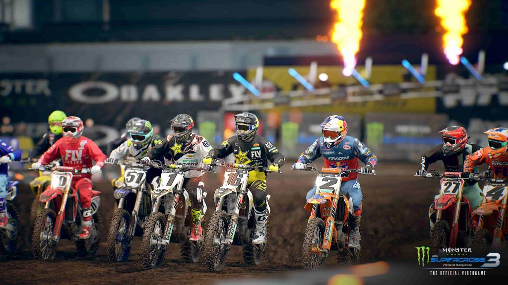 monster energy supercross trofei