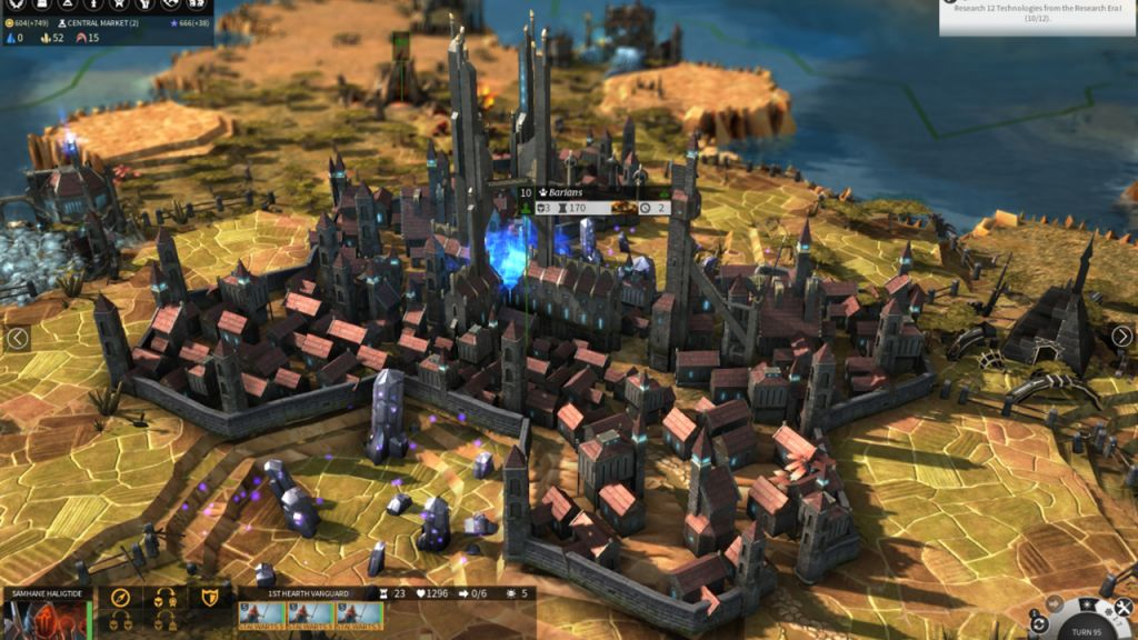 Uno screenshot da Endless Legend