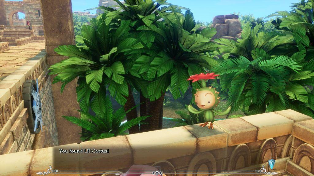 Li'l Cactus da Trials of Mana