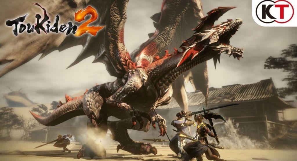 screenshot di un combattimento in Toukiden 2
