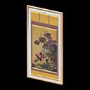 Quadro dettagliato - Azisai Soukeizu - I fiori sono viola, l'originale li ha blu