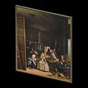 Quadro solenne - Las Meninas - L'uomo sullo sfondo nel falso non tocca lo stipite della porta, ma il braccio alzato