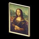 Quadro famoso - Monna Lisa - L'espressione del falso è diversa, più accigliata