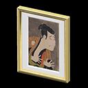 Quadro spaventoso - Ootani Oniji - L'uomo nel falso ha un'espressione triste