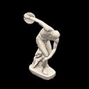 Statua atletica - Discobolo di Mirone - Il falso ha un orologio al polso