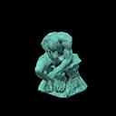 Statua pensierosa