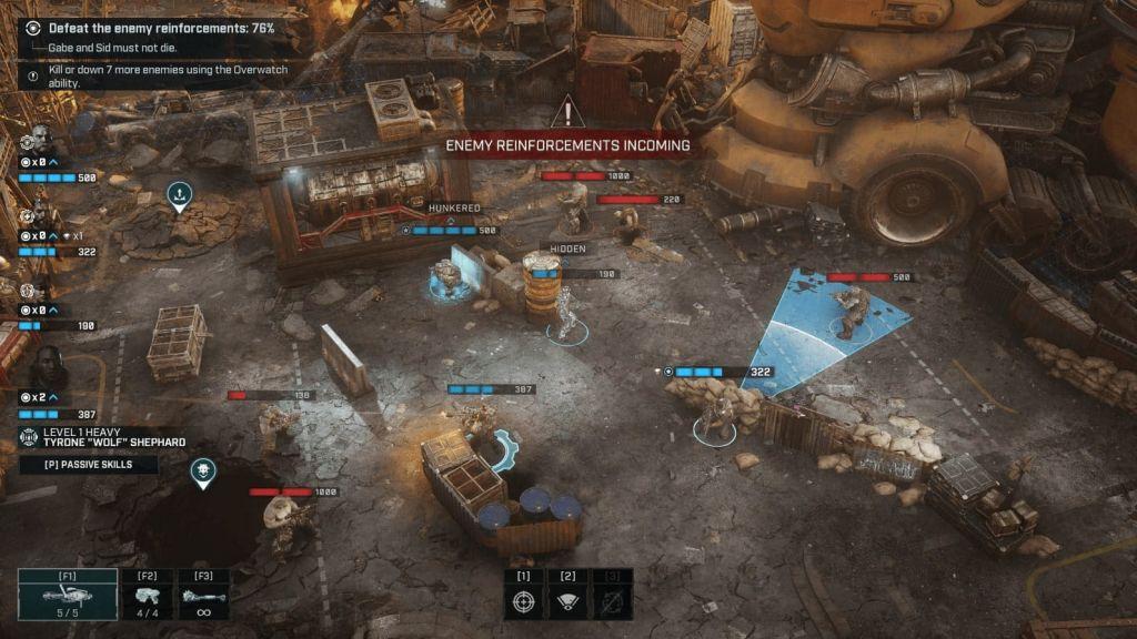 Gears Tactics salvataggio